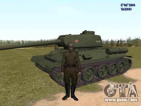 USSR Soldier Pack para GTA San Andreas segunda pantalla