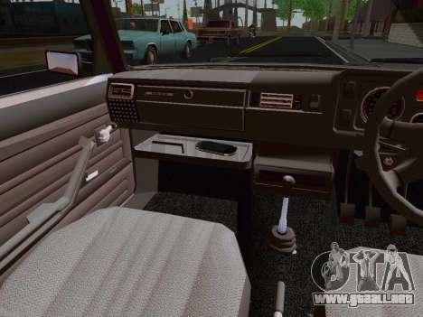 VAZ 2105 Riva para GTA San Andreas vista hacia atrás