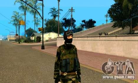 Fighter Alpha Contra El Terrorismo para GTA San Andreas tercera pantalla