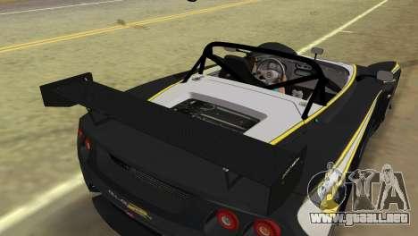 Lotus 2-Eleven para GTA Vice City vista posterior