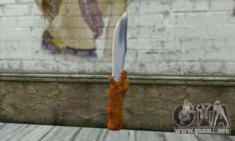 Cuchillo de colección para GTA San Andreas
