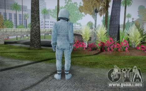 Spacesuit From Fallout 3 para GTA San Andreas segunda pantalla
