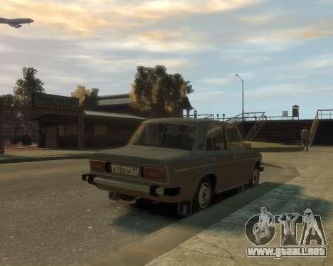 VAZ 2106 para GTA 4 left