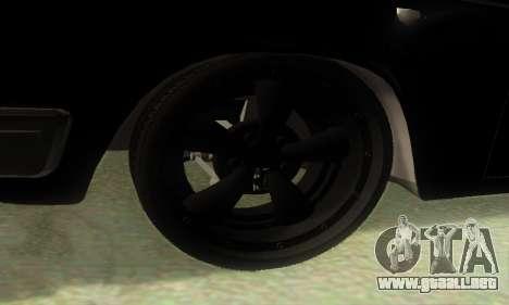 ГАЗ 3110 v8 MOPAR-Hot Rod para GTA San Andreas vista posterior izquierda