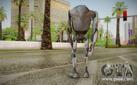 B2-Super Battle Droid skin para GTA San Andreas segunda pantalla