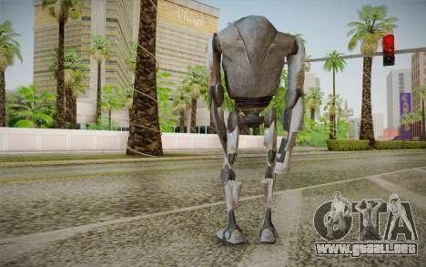 B2-Super Battle Droid skin para GTA San Andreas segunda pantalla