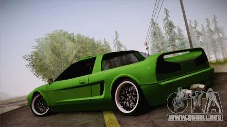 Infernus Racing Edition para GTA San Andreas left