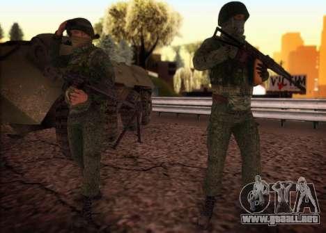 La pesada de la MIA fuerzas especiales para GTA San Andreas segunda pantalla