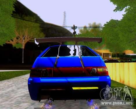 VAZ 2112 Sintonizable para las ruedas de GTA San Andreas