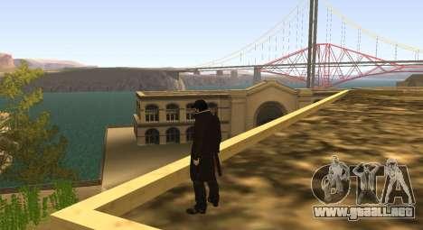 New Aiden Pearce para GTA San Andreas tercera pantalla