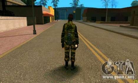 Fighter Alpha Contra El Terrorismo para GTA San Andreas segunda pantalla