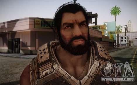 Dom From Gears of War 3 para GTA San Andreas tercera pantalla