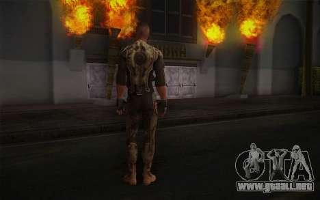 Teniente Nicolás Raine из Rabia para GTA San Andreas segunda pantalla
