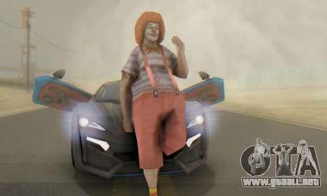 W-Motors Lykan Hypersport 2013 Blue Star para GTA San Andreas interior