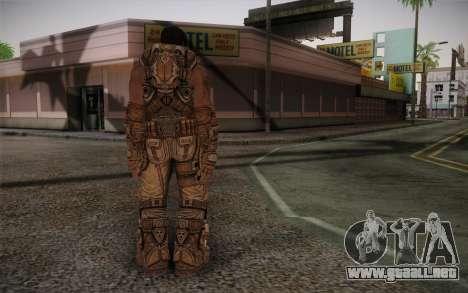 Dom From Gears of War 3 para GTA San Andreas segunda pantalla
