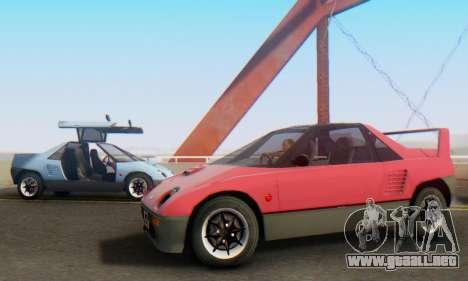 Mazda Autozam AZ-1 para GTA San Andreas left