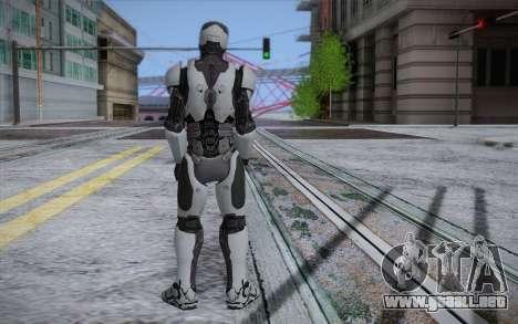RoboCop 2014 para GTA San Andreas segunda pantalla