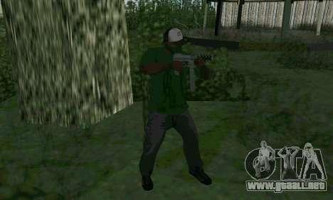 Nuevas características de las armas para GTA San Andreas