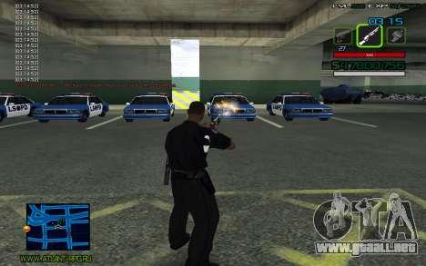 C-HUD by SampHack v.2 para GTA San Andreas tercera pantalla