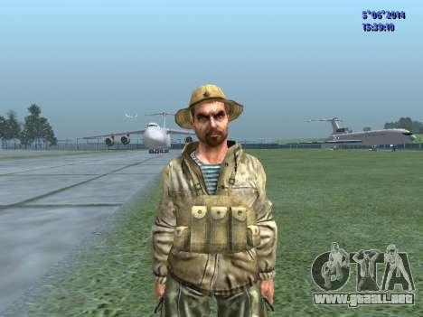 El aire militar de la URSS para GTA San Andreas