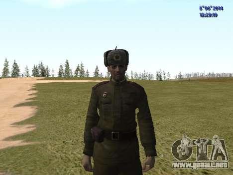 USSR Soldier Pack para GTA San Andreas quinta pantalla