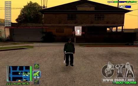 C-HUD Optimal para GTA San Andreas sucesivamente de pantalla