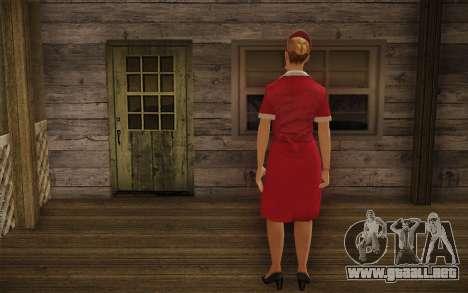 Rose Marigold para GTA San Andreas segunda pantalla