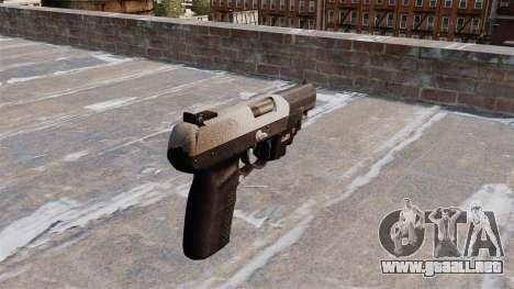 Pistola FN Five seveN LAM Chrome para GTA 4 segundos de pantalla