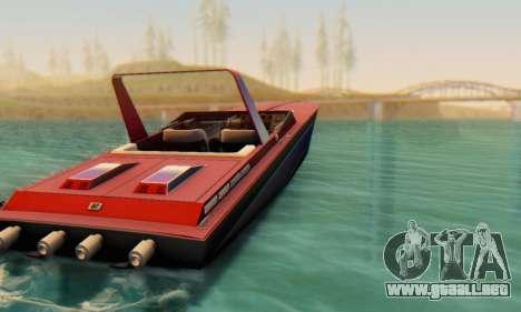 Wellcraft 38 Scarab KV para GTA San Andreas