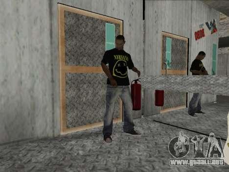 Nueva Mike Nirvana y Kurt Cobain para GTA San Andreas segunda pantalla