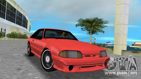 Ford Mustang Cobra 1993 para GTA Vice City left