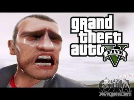 GTA 5 Niko Bellik tercera captura de pantalla