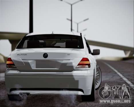 BMW Alpina B7 para GTA San Andreas left