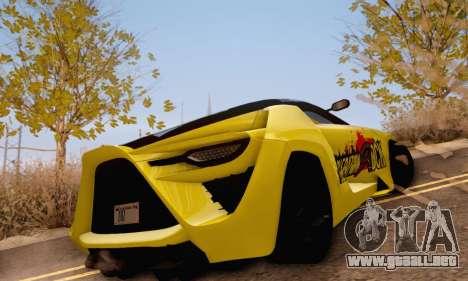 Bertone Mantide 2010 Rock Generation para la visión correcta GTA San Andreas
