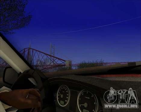 GAZ 31105 Sintonizable para visión interna GTA San Andreas