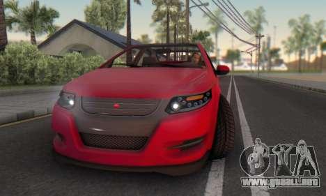 Cheval Surge V1.0 para vista inferior GTA San Andreas