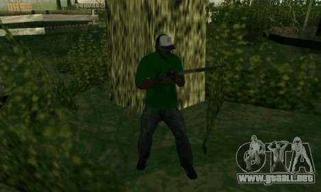 Nuevas características de las armas para GTA San Andreas sexta pantalla