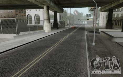 HD Roads 2014 para GTA San Andreas segunda pantalla