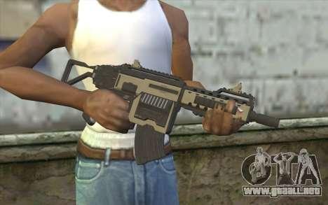 NS-11C Carbine from Planetside 2 para GTA San Andreas tercera pantalla