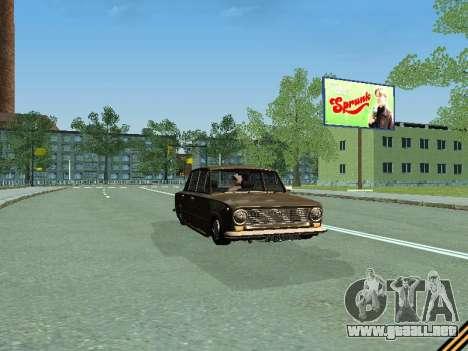 VAZ 2101 para visión interna GTA San Andreas