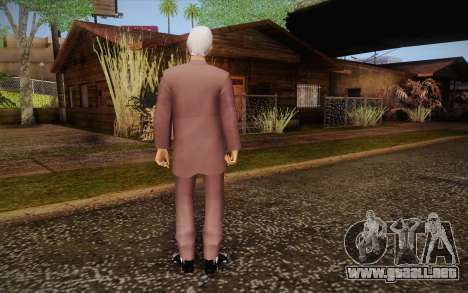 Leslie William Nielsen para GTA San Andreas segunda pantalla