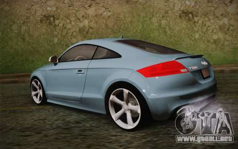 Audi TT RS 2011 para GTA San Andreas left