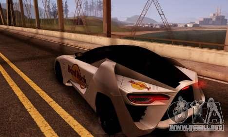 Bertone Mantide 2010 Hard Rock Cafe para la visión correcta GTA San Andreas