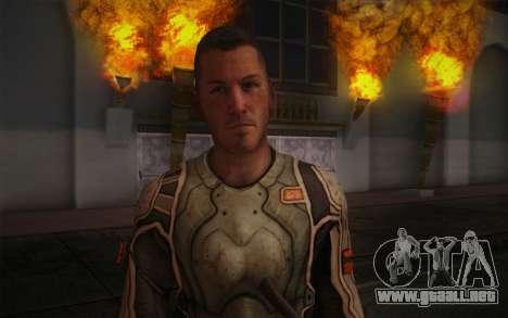 Teniente Nicolás Raine из Rabia para GTA San Andreas tercera pantalla