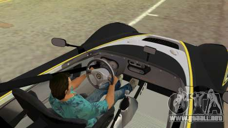Lotus 2-Eleven para GTA Vice City vista lateral izquierdo