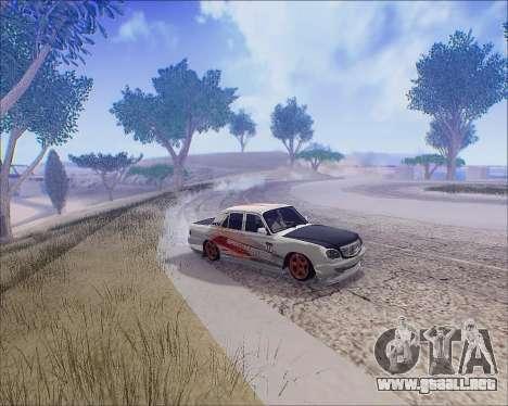 GAZ 31105 Sintonizable para vista lateral GTA San Andreas