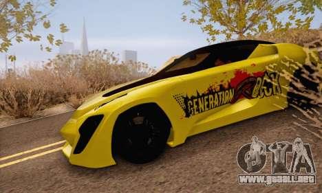 Bertone Mantide 2010 Rock Generation para GTA San Andreas
