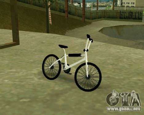 BMX из GTA Vice City Stories para GTA San Andreas