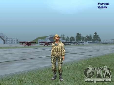 El aire militar de la URSS para GTA San Andreas tercera pantalla