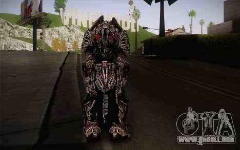 Theron Guard Cloth From Gears of War 3 v2 para GTA San Andreas segunda pantalla